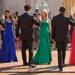 Elena, Caroline and Tina.