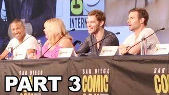 The Originals Panel Comic Con 2017 Part 3