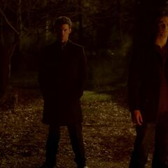 Niklaus, Elijah and Kol against their brother and mother
