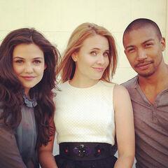 Danielle, Leah, and Charles
