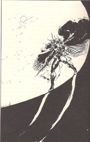 Lord Vlad appears at the crater with his Scepter 001