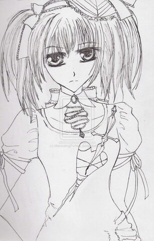File:Vampire knight fanart line art by ManeatingPonies.jpg