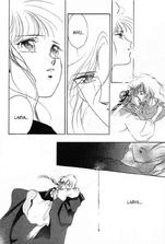 Miyu and larva kiss