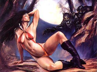 Julie Bell - Hard Curves 2001 - 68 - Vampirella