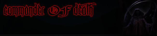 Commander of Death banner