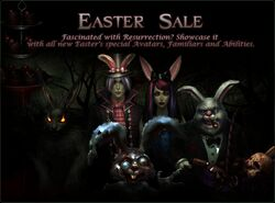 Easter Sale splash