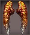 Phoenix Wings canvas