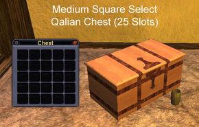 Medium Square Select Qalian Chest