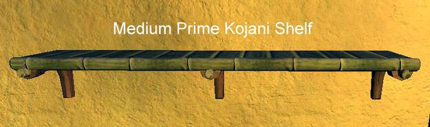Medium Prime Kojani Shelf