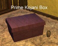 Prime Kojani Box