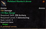 Polished Warden's Arrow