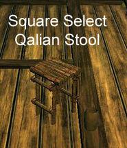 Square Select Qalian Stool