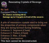 Resonating crystals revenge