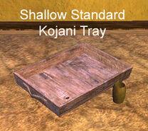 Shallow Standard Kojani Tray