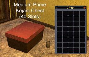 Medium Prime Kojani Chest