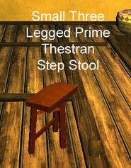 Small Three Legged Prime Thestran Step Stool