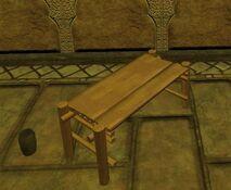 Plain standard qalian bench