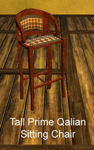 Tall Prime Qalian Sitting Chair