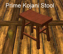 Prime Kojani Stool