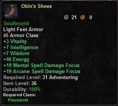 Obin's Shoes