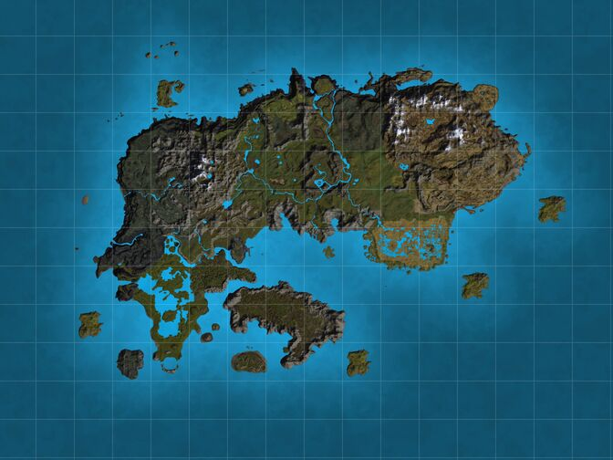 The continent of Thestra