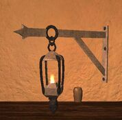 Mithril thestran wall lantern