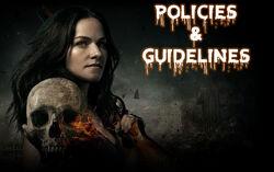 Van Helsing Wikia - Policies and Guidelines
