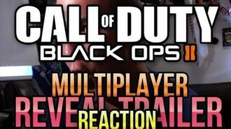 WEIRDEST REACTION TO CALL OF DUTY BLACK OPS 2 MULTIPLAYER REVEAL TRAILER!