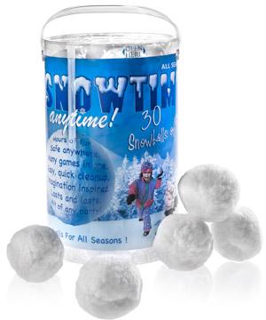 Snowtime-indoor-snow-balls