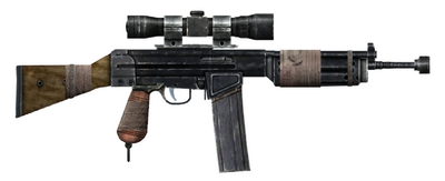 Warfighter's rifle