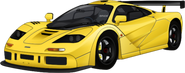 F1 LM-style body conversion yellow