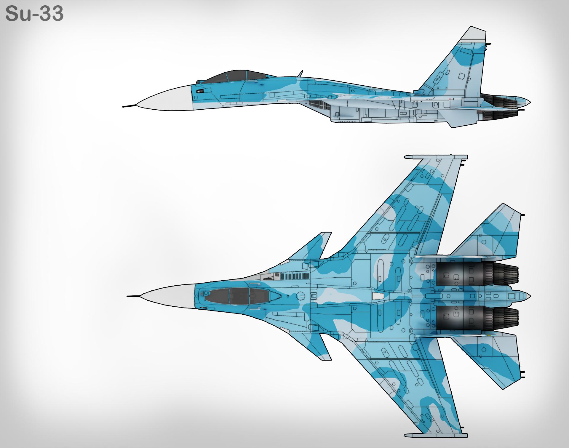 Loading su 33 flanker d carrier based fighter jet su 27 - Loading Su 33 Flanker D Carrier Based Fighter Jet Su 27 33