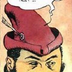Лютик в комиксе
