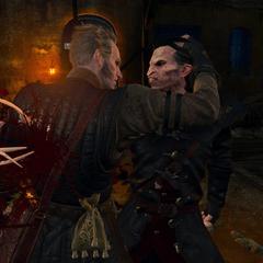 Первое появление Региса в «Кровь и Вино»