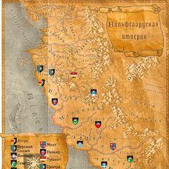 Карта Империи и провинций