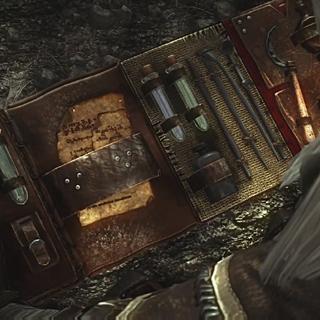 Снаряжение Геральта в Ведьмак 2