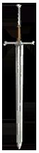 Ведьмачий стальной меч В1