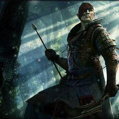 Йорвет, командир отряда Скоя'таэлей
