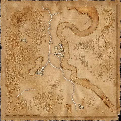 Карта Темноводья