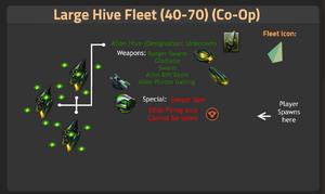 Large Hive Fleet 40-70