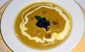 Buttercupsquash soup