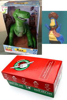 Disney Park Toy Story Talking Rex Dinosaur Action Figure Doll New In Package Finished Khalil Hand Puppet Christmas Child Boxes