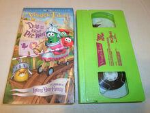 VeggieTales Duke and the Great Pie War VHS 2004
