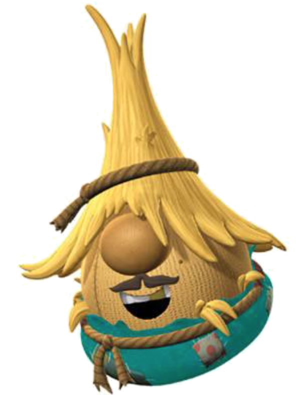 """Scarecrow Lunt in """"The Wonderful Wizard of Ha's"""""""
