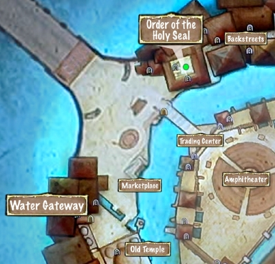 Quest Map A Letter to Venice