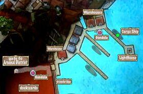 Quest Map Explosive Goods