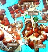 Quest Map to Inner City Catacombs Entrance