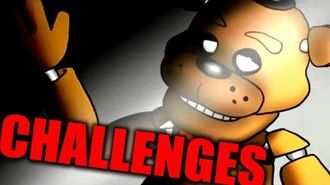 FIVE NIGHTS AT FREDDY'S CHALLENGES! Gmod FAN CHALLENGES (Garry's Mod)