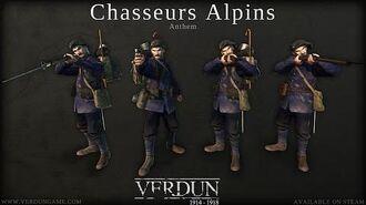 Verdun - Chasseurs Alpins Squad Anthem