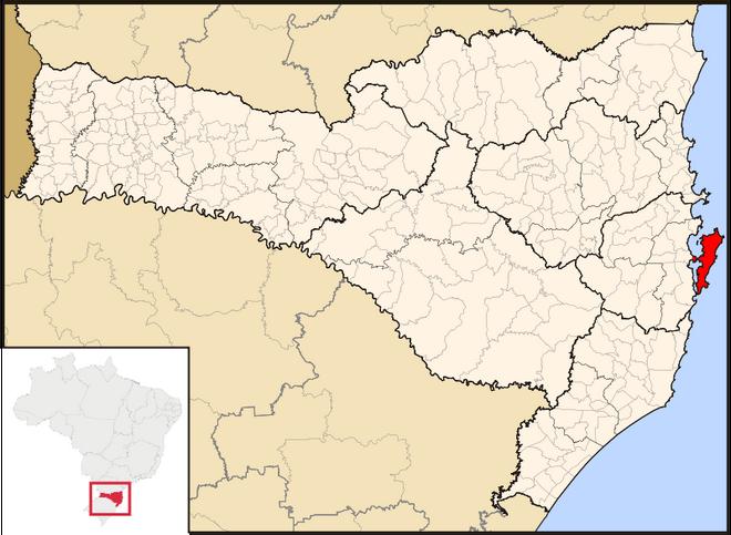 Florianopolis mapa